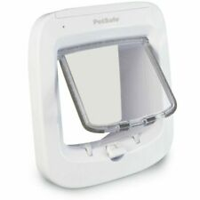PetSafe PPA19-16145 Microchip Door Flap for Cats - White