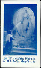 """santino-holy card""""S.CATERINA LABOURE'"""