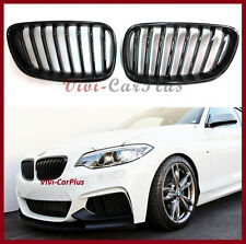 Fit On 14-16 BMW F22 Sporty Look Front Grille 220i 228i 235i M235i Gloss Black