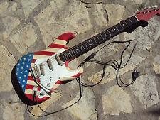 Lampe décorative à poser, forme guitare électrique déco USA