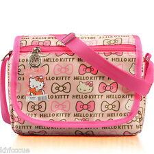 Hello Kitty Shoulder Handbag Messenger Bag Bow Pink  For Girl K586
