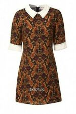 Miss Patina Paisley Print Vivaldi Dress - Size Small 6 8