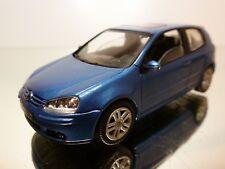 SCHUCO VW VOLKSWAGEN GOLF V - BLUE METALLIC 1:43 - EXCELLENT  CONDITION - 15/16