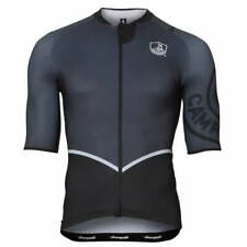 NEW Campagnolo Titanio Grey Black Cycling Race Jersey RRP £124.99 Made in Italy