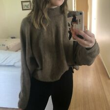 H&M Brown Oversized Jumper / Knit / Sweater Size Small