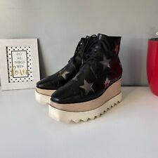 Stella Mccartney Star Elyse Platform Ankle Boot Black EUR 37 (US 7)