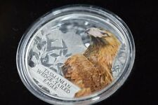 2012 Tuvalu Tasmanian Wedge-tailed Eagle 1oz Silver Proof -Endangered & Extinct