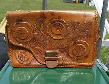 Vintage Tole Leather Purse Tijuana-Made Unique