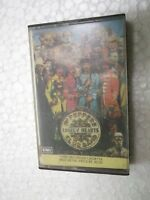 THE BEATLES  SGT PEPPERS error 'the' omitted 1990 RARE CASSETTE TAPE INDIA