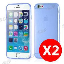 Buy 1 Get 1 Ultra Slim Blue iPhone 6plus / 6s Plus GEL Case Cover for Apple