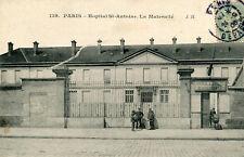 Carte PARIS Hôpital Saint Antoine La Maternité