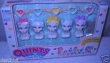 #8560 NRFB Vintage Tyco Quints 5 Little Puppies