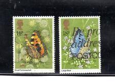 Gran bretaña Fauna Mariposas año 1981 (BJ-738)