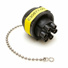 MCL 863023-1 Heavy Duty LGH Connector Cap with Bead Chain