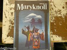 MARYKNOLL MAGAZINE.- Feb. '59 -  Catholic Mission Movement