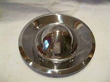Chevy Rally Chrome BULLET TOP Hub Caps 2-1/4 Short Bullets (4) VERY COOL