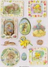 Hallmark Marjolein Bastin Layered Stickers Natures Sketchbook Spring Rabbits