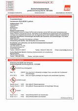 Walzblei-Datenblatt für unsere selbstklebenden Walzblei-Folien