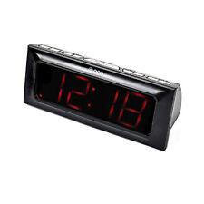 "ONN Intelligent 6"" Home AM/FM Digital Alarm Clock Radio (Refurbished) (Used)"