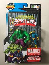 "Marvel Universe 3 3/4"" INCREDIBLE HULK & CYCLOPS Action Figure 2 Pack Comic"