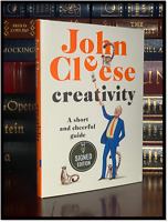 Creativity ✎SIGNED✎ by JOHN CLEESE New 1st Edition First Printing Hardback Monty