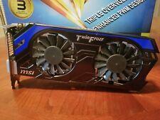 MSI GeForce GTX 660 Ti DirectX 11 2GD5/OC 2GB 192-Bit GDDR5 PCI Express 3.0x16