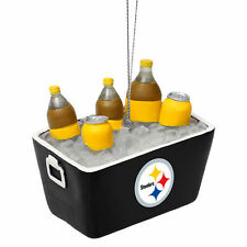 Pittsburgh Steelers Soda Cooler Ornament - NFL