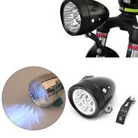 Retro Bicycle Bike Front Light Lamp 7 LED Fixie Headlight Headlamp with Bracket