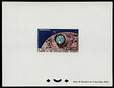 Raumfahrt Space 1962 Neukaledonien Telstar 386 Epreuve Deluxe Imperf MNH/881