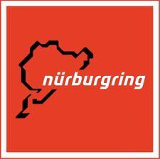 Nurburgring German Racing Porsche Mercedes Bmw Ferrari Lamborghini sign Red