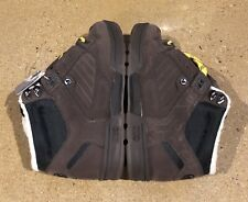 DVS Militia Boot Size 5 Chocolate Nubuck BMX DC MOTO Stash Tongue Deadstock