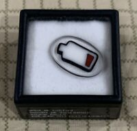 Boro glass mille By Josh Ford Dead Battery Singed And Dated Box mille Coin