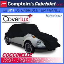 Housse / Bâche protection Coverlux pour VW Coccinelle en Jersey couleur Noire