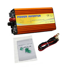 1000W Pure Sine Wave Inverter 1KW for DC 12V-AC 110V Power Inverter Converter