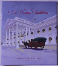 2017 White House Christmas Holidays Tour Book Program Donald Melania Trump POTUS