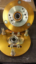 Escort Mk1/Mk2 Small Strut Top Camber  Adjuster Plates Poss Kit car gold