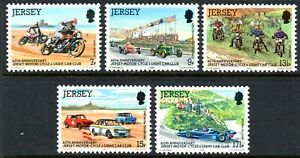 Jersey 1980 Motor-cycle and Light Car Club set of 5 Mint Unhinged