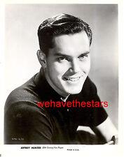 Vintage Jeffrey Hunter SEXY QUITE HANDSOME '50s EARLY Publicity Portrait