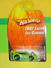 2007 Hot Wheels Easter Egg-Clusives Mitsubishi Eclipse Lime Green (1 of 12)