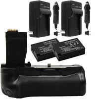 Vivitar 2-Pack Battery & Charger Kit for LP-E17 + T6i/T6s Battery Grip Bundle