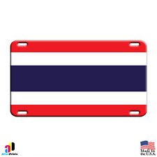 Thailand Country Flag Aluminum Metal Novelty License Plate Tag