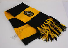 9b53568733d69 Harry Potter Hufflepuff House Scarf Soft Warm Costume Cosplay Xmas s Gift
