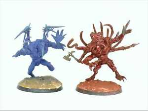 CHAOS SPAWN x 2 - Plastic Painted Warhammer 40K Chaos Space Marines Army CS6