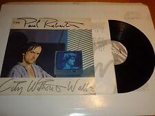PAUL ROBERTS - City Without Walls - 1985 Dutch 10-track Vinyl LP