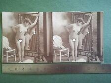 cartes postales stéréoscopiques 1900 nus dont intégral