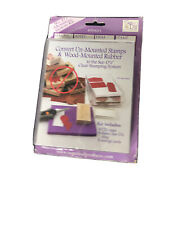 See D's Mounting System Kit Sugarloaf Convert Unmounted Stamps to Clear Stamp