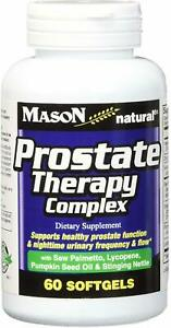 Prostate Therapy Complex by Mason Naturals, 60 softgels