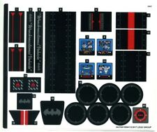 LEGO 70917 - The LEGO Batman Movie - Ultimate Batmobile - STICKER SHEET