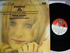RONNIE ALDRICH Y SUS DOS PIANOS - INVITATION TO LOVE  Vinyl Vinilo  Spain 1973