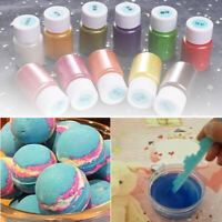 14pcs Bath Bomb Pearl Slime Coloring Mica Powder Soap Dye Makeup Pigment Set